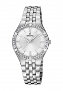 Festina watch Mademoiselle stainless steel cubic zirconia F20223/1