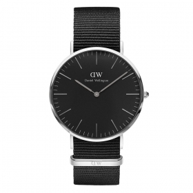 Daniel wellington watch 40mm unisex classic black cornwall DW00100149