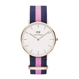 Daniel wellington watch is 36mm unisex classic winchester rose gold DW00100033
