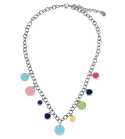 Swatch necklace colortwist steel inserts multicolor JPD045
