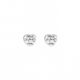 Gucci earrings blind for love silver YBD455255001