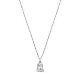Gucci necklace ghost adjustable 45/50cm silver YBB455276001