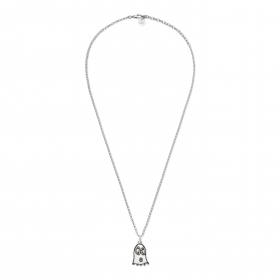 Gucci necklace ghost silver adjustable 45/50cm ghost YBB455536001