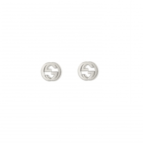 Gucci earrings in silver with GG detail YBD479227001