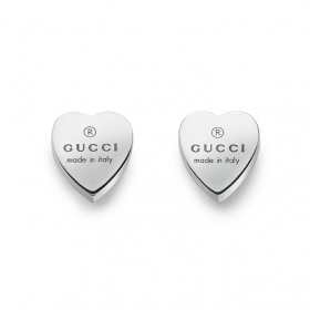 Gucci earrings silver heart YBD223990001