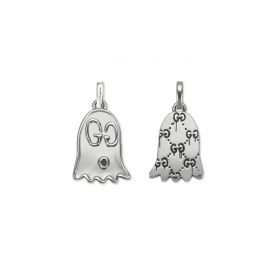 Gucci silver pendant Gucci Ghost ghost YBG455271001
