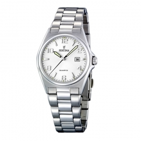 Festina woman watch classic date steel quad.silver F16375/5