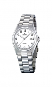 Festina woman watch classic date steel quad.white F16375/1