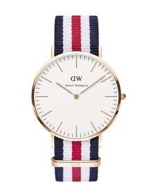 Daniel wellington watch 40mm unisex classic canterbury rose gold dw00100002