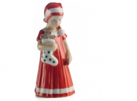 Royal Copenhagen Elsa red braided mini 14cm Figurine 5021091