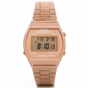 The Casio vintage watch collection digital stainless steel unisex copper B640WC-5ADF