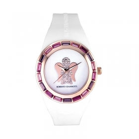 Giannotti clock Angel Time with steel case pink ANT18