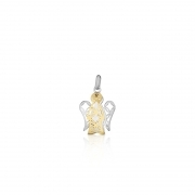 Roberto Giannotti charms yellow gold white angel PZ636