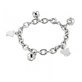 Roberto Giannotti bracelet with silver calls the angels SFA66