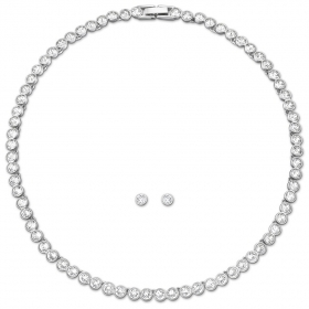 Swarovski tenni set necklace a