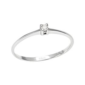 Bliss solitaire ring diamond 0,03 ct coll. Gem 20060815