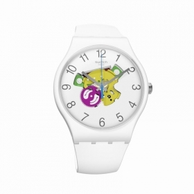 Swatch watch candinette white