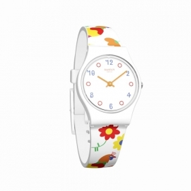 Swatch watch lady multicolor H