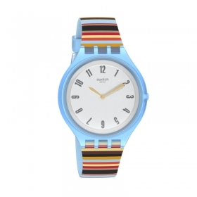 Swatch unisex skin case blue c