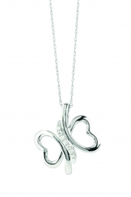 Bliss necklace sighs 18kt whit