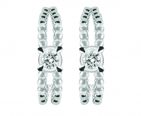 Bliss earrings olimpia white gold with diamonds 20073819