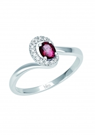 Bliss ring new colette gold diamnti ruby 20070051
