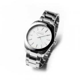 Cesare Paciotti 4US watch smooth small white steel T4LS196