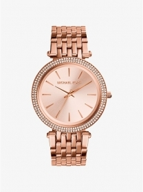 Michael kors Watch Us Pave' shades' rose gold MK3192
