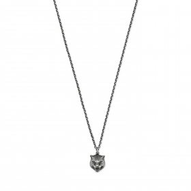 GUCCI necklace man MEN silver