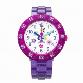 Flik Flak watch child PURPLE GARDEN FCSP060