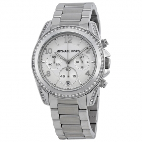 Michael Kors woman watch Cronografoacciaio and crystal blair MK5165