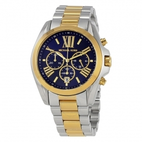 Watch Michael kors men chrono steel two-tone MK5976