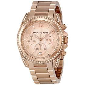 Michael Kors woman watch rose chrono blair MK5263