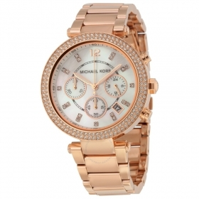 Michael kors watch women Parker rose' chrono MK5491