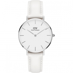 Daniel Wellington watch Classic Petite 32mm Bondi white leather DW00100190