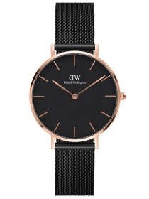 Daniel Wellington watch Classic Petite 32mm Ashfield milan black DW00100201