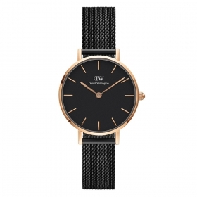 Daniel wellington watch Classic Petite 28mm Ashfield milan black DW00100245