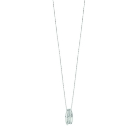 Bliss necklace in white gold w