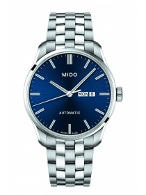 Mido man watch belluna stainless steel the quad.blue M024.630.11.041.00