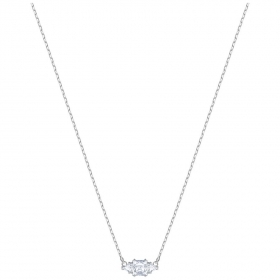 Swarovski Necklace Attract Trilogy, white, rhodium plating 5392924