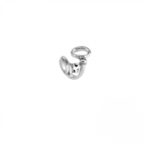 Uno de 50 ring key cast alloy silver xl ANI0407MTL000XL