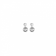 Uno de 50 earrings, silver-plated escamas PEN0055MET X