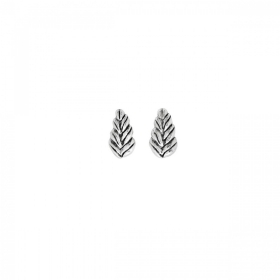 Uno de 50 earrings, leaf, silver league PEN0551MTL0000U