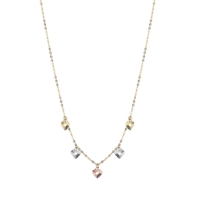 Bliss necklace mon amour white