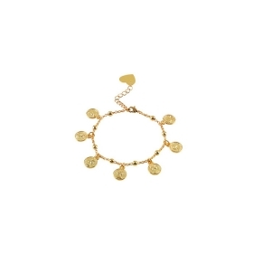 Bliss bracelet women's bronze gold coins 20075510