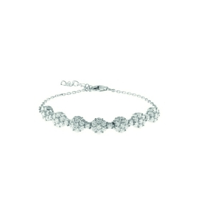 Bliss bracelet woman silver cubic zirconia white adjustable 20075110