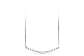 Rosé silver necklace with scorritoio RSOE05