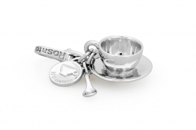 Rosato charm in argento a cup of coffee RHO026