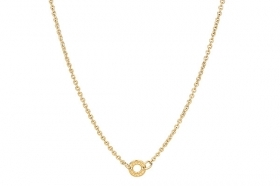 Rosato necklace with silver gold plating ring for charm RCL07