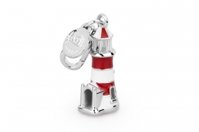Rosato charm silver lighthouse